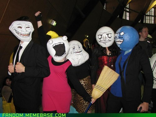 all the things,cosplay,forever alone,i lied,me gusta,rage faces,troll face