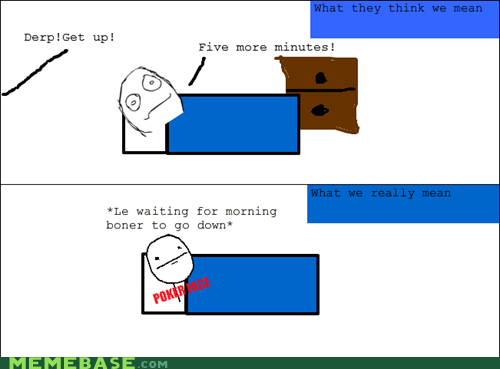 Rage Comics: Trust Me, You Don't Want to See Me Up