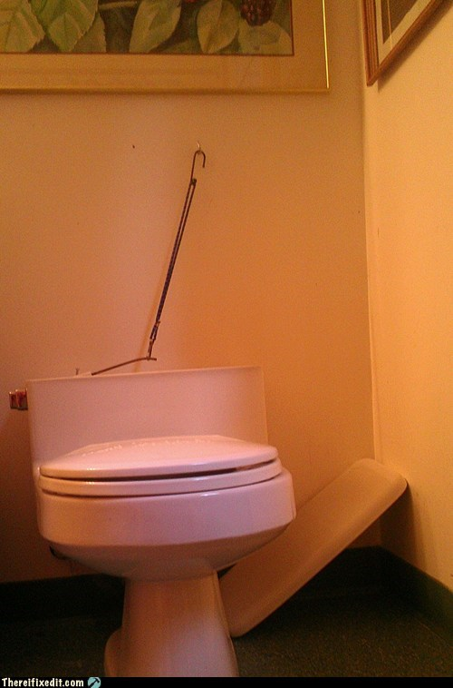 The Bungee Flusher