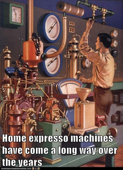 Home expresso machines have come a long way over the years