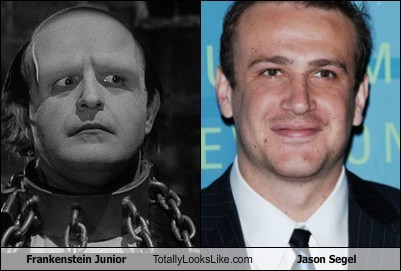 Frankenstein Junior Totally Looks Like Jason Segel