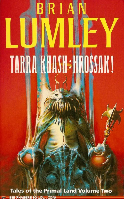 WTF Sci-Fi Book Covers: Tarra Khash: Hrossak!