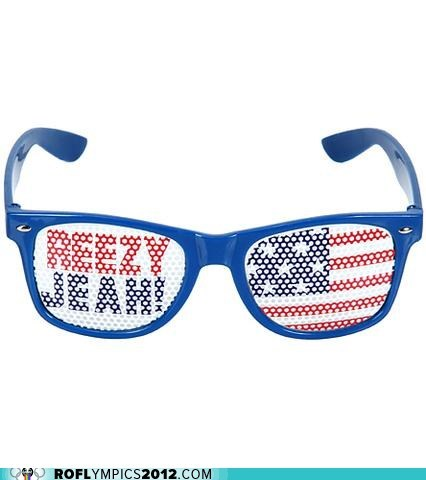 glasses,jeah,London 2012,olympics,ryan lochte,swag,swimming
