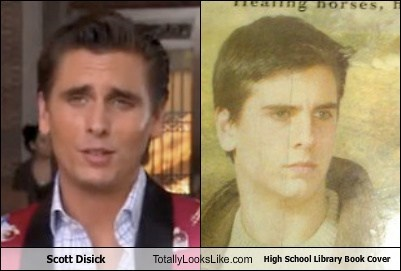 Scott Disick Totally Looks Like High School Library Book Cover