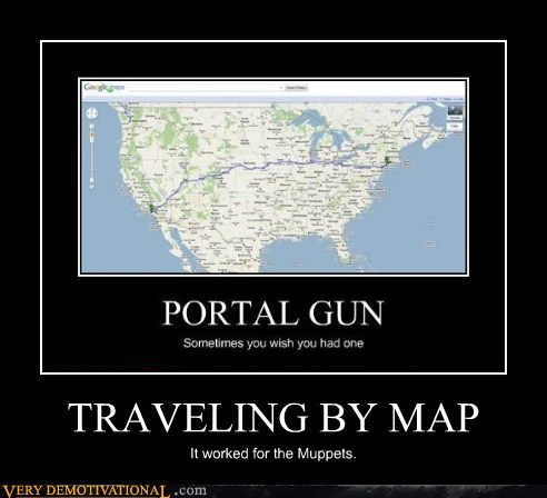 TRAVELING BY MAP