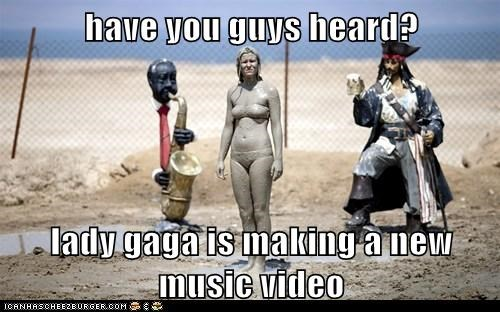 have you guys heard?  lady gaga is making a new music video
