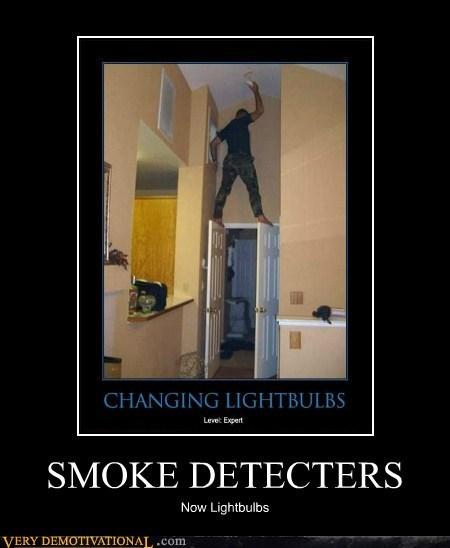 detector,hilarious,lightbulb,smoke