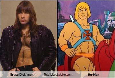 Bruce Dickinson Totally Looks Like He-Man