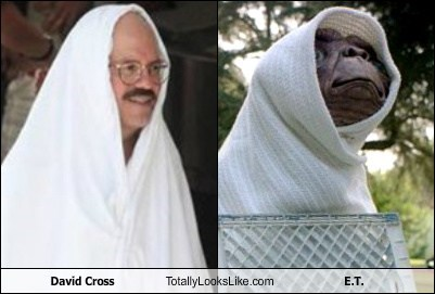 David Cross Totally Looks Like E.T.