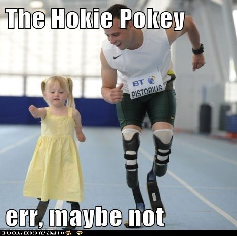 The Hokie Pokey  err, maybe not