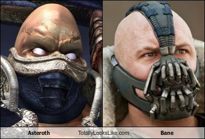 Asteroth Totally Looks Like Bane