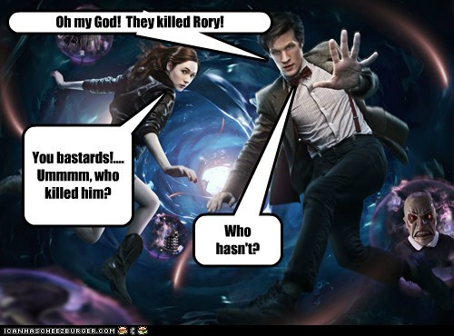 OMG, they killed Rory....again.