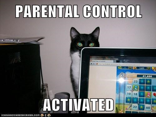 PARENTAL CONTROL  ACTIVATED