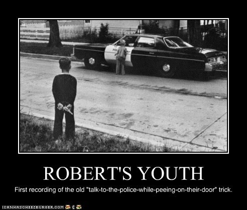 ROBERT'S YOUTH