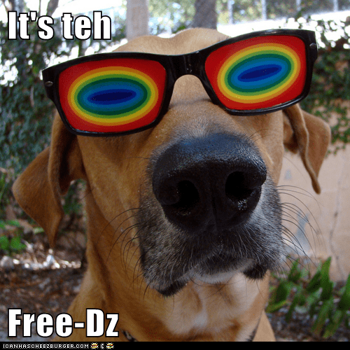 It's teh  Free-Dz