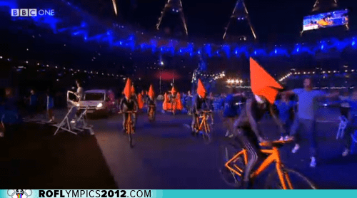 The Closing Ceremony Has Become a Surrealist Nightmare