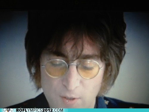 "The Ghost of John Lennon Stopped By to Sing ""Imagine"""