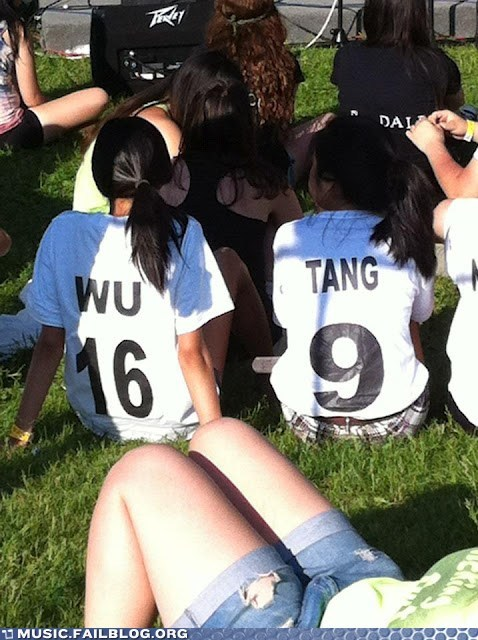 Shame on a Ninja Who Try to Wu Tang With a Ninja