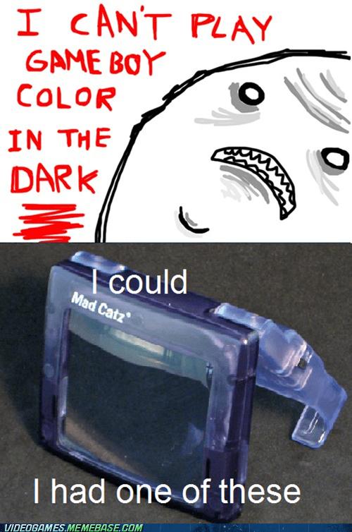 accessories,game boy,in the dark,mad catz,the internets