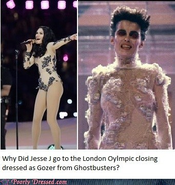 fashion,Ghostbusters,gozer,olympics