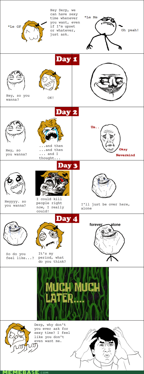Rage Comics: Just Ask, She Said