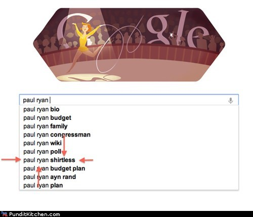 election 2012,google,paul ryan,political pictures,Republicans,vice president