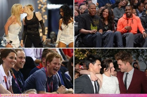 The 10 Greatest Celebrity Third Wheels of all Time