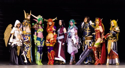 cosplay,MMORPGs,video games,WoW