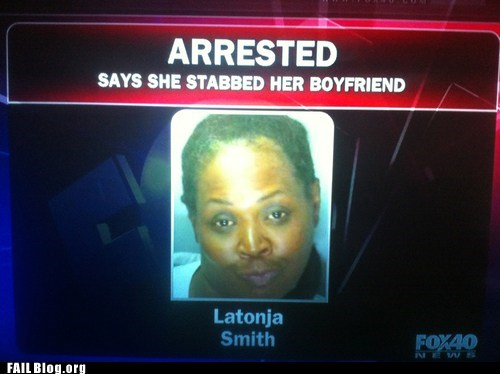 FAIL Nation: Mugshot FAIL