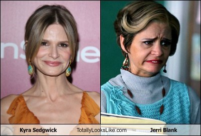 Kyra Sedgwick Totally Looks Like Jerri Blank (Amy Sedaris)