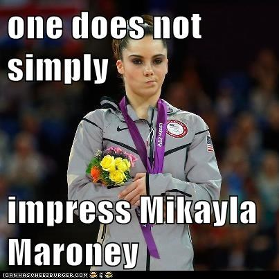 one does not simply   impress Mikayla Maroney