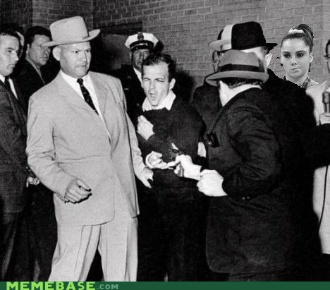 McKayla Maroney is not impressed with the Kennedy conspiracy