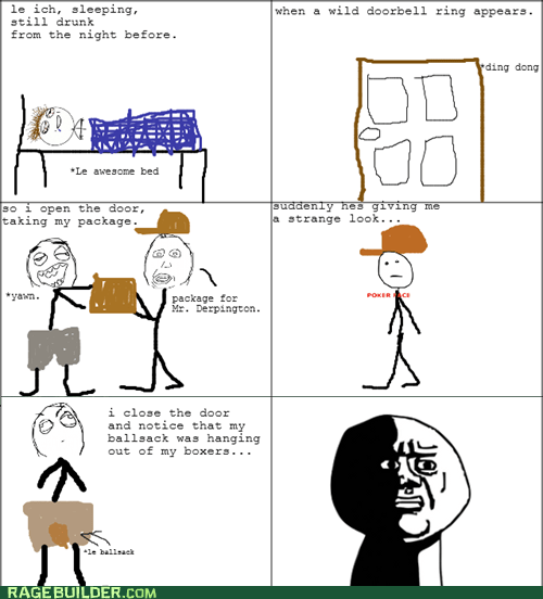 package,poker face,Rage Comics,that sounds naughty