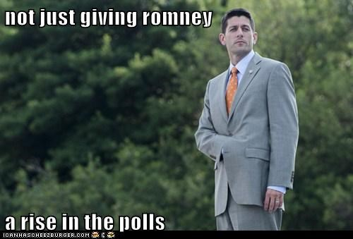 not just giving romney  a rise in the polls