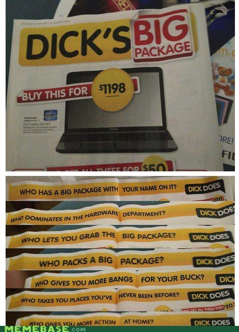 ads,shoppers beware,that sounds naughty