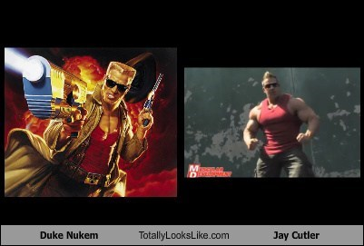 Duke Nukem Totally Looks Like Jay Cutler