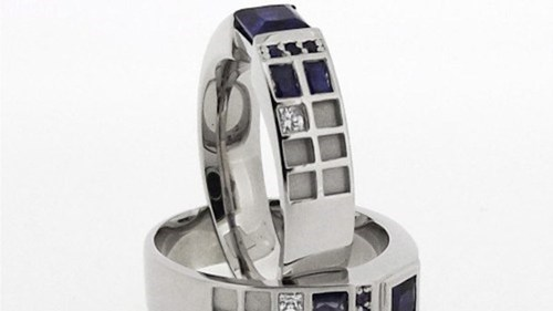 Real-Deal TARDIS Ring of the Day
