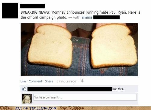 bread,facebook,paul ryan,politics