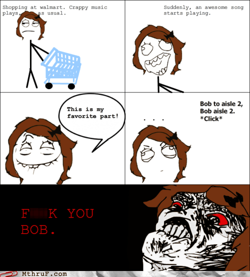 Screw You, Bob! I Hope You're Burdened With Many Minor Inconveniences for the Rest of the Day!