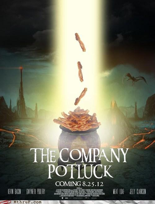 movie poster,picnic,potluck,the company potluck,zach andrews