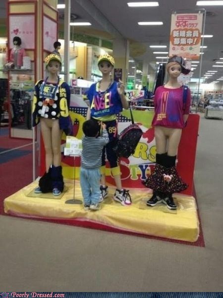 Take That, Mannequins!