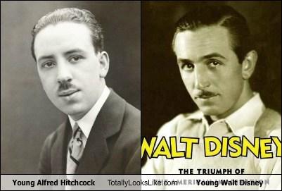 alfred hitchcock,celeb,director,funny,TLL,walt disney