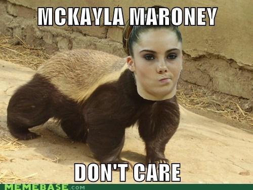 honey badger,mckayla