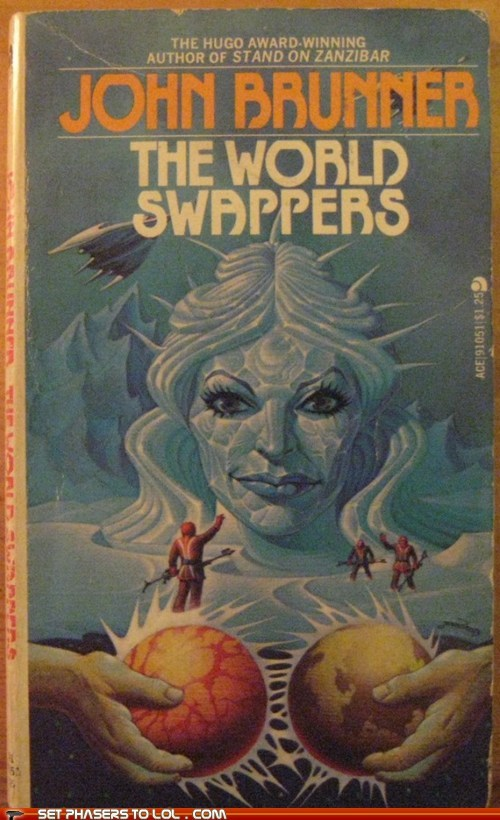 WTF Sci-Fi Book Covers: The World Swappers