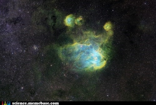The Running Chicken Nebula... Awesome Name
