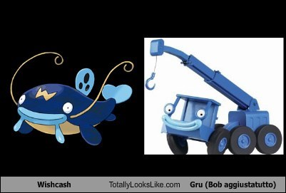bob the builder,funny,gru,Pokémon,TLL,whiscash