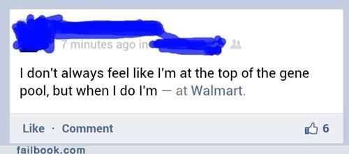 classist,gene pool,Walmart