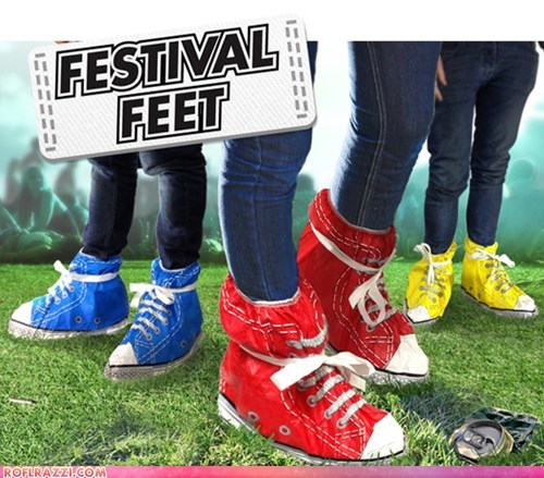 If Style Could Kill: Festival Feet!