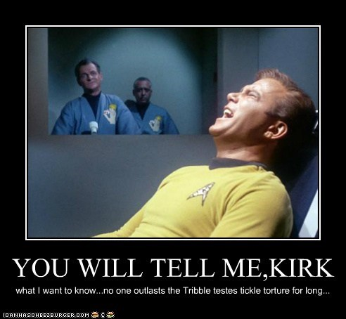 YOU WILL TELL ME,KIRK