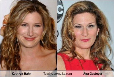 Kathryn Hahn Totally Looks Like Ana Gasteyer